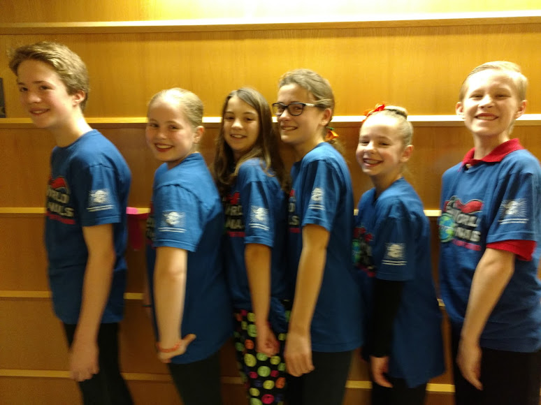 Congratulations - Har-Bur's Odyssey of the Mind Team